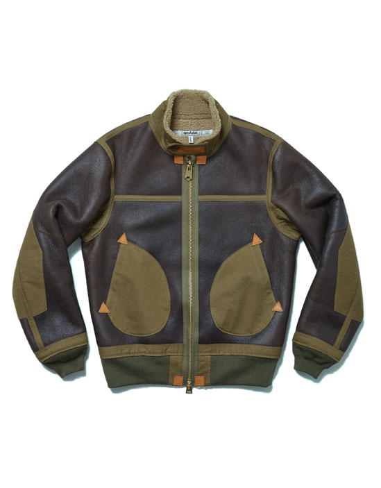 105-009 [AVIATOR JACKET]