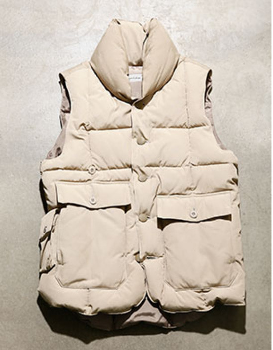 153-003 [LODGE PUFFER VEST]-retro