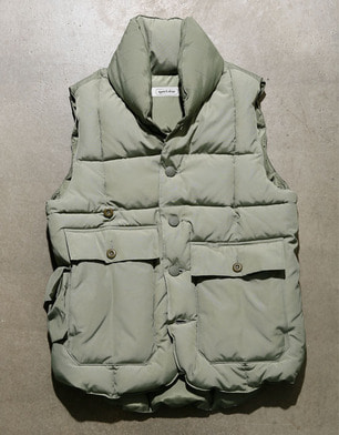 153-004 [LODGE PUFFER VEST]-retro