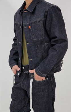 FAKE TRUCKER JACKET-I.D.