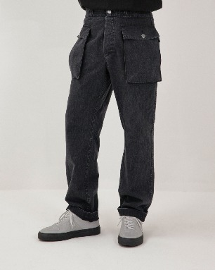 DECKER PANTS-BK