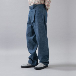SEAMAN DUNGAREE PANTS-IN by FOLS