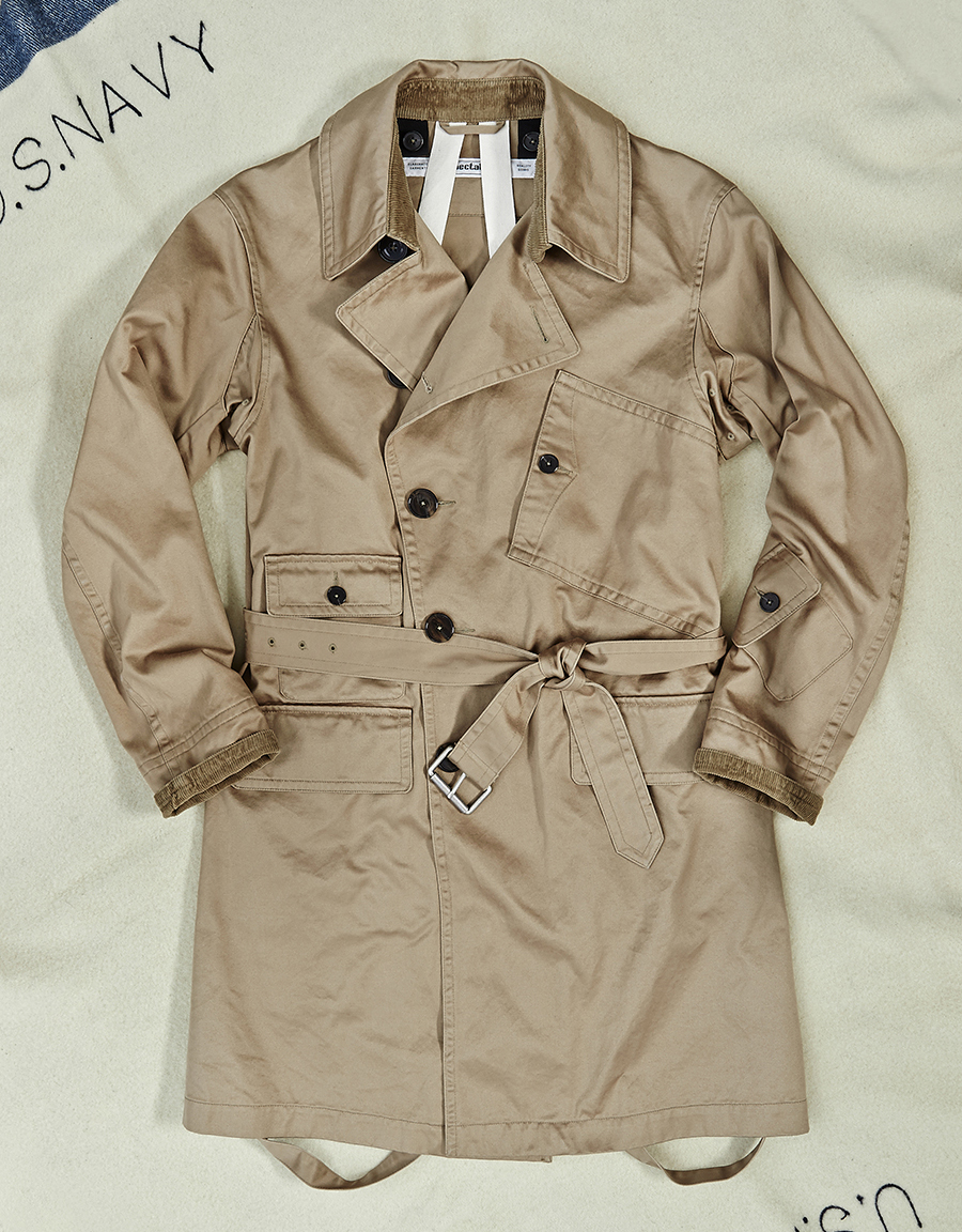 106-007 [DECK TRENCH COAT]