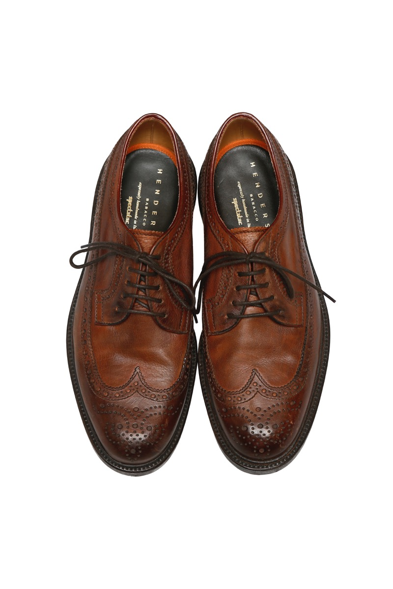 177-002 [BROGUE SHOE] with HENDERSON baracco
