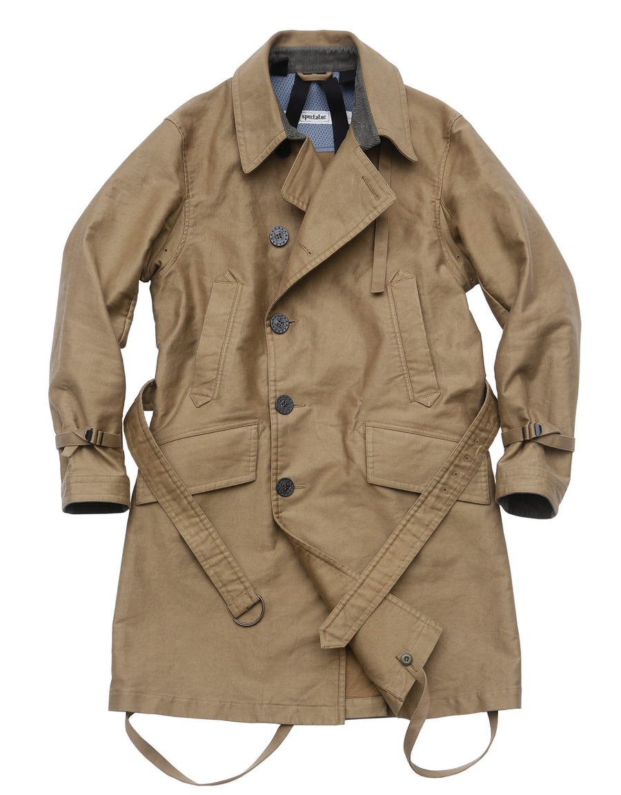106-009 [DECK TRENCH COAT]
